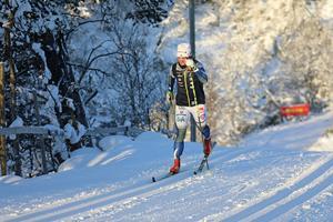 Charlotte Kalla inleder på fredagen sin 15:e säsong i världscupen. Här är hon under sista landslagslägret för denna säsong tidigare i november.