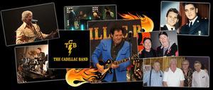 The Cadillac band har spelat ihop under många år. Namnet fick bandet 2004, då döpt av Elvis Presley's trummis DJ Fontana. Foto: Privat