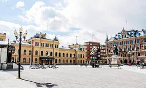 Stora torget i Sundsvall lever inte upp till insändarskribentens förväntningar.