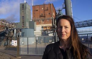 Ida Mörtsell, HR-chef på Rottneros som äger Vallviks bruk.