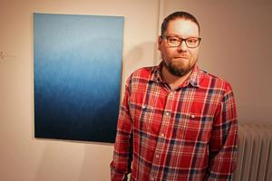 Samuel Åhlman är aktuell med en soloutställning på Galleri Svarta Gran i Borlänge. Foto: Ulf Lundén