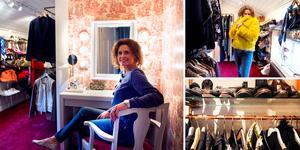 Anlo Malmberg fick ett rum över när pojkarna flyttade hemifrån. Nu är rummet hennes egen boudoir.