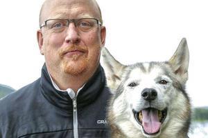Niklas Andersson, projektledare för draghunds-VM i Sveg.Bild: Marie Israelsson/Privat
