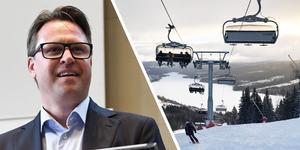 Mats Årjes och liften Sadelexpressen i Åre.Foto: Henrik Montgomery/TT & Anna Sundkvist.