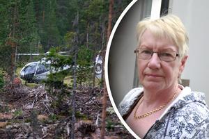 Gudrun Larsson Thysk, ordförande i Lima hembygdsförening.