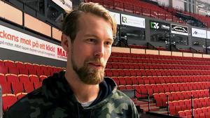 Anders Lindbäck på tillfälligt besök i Gävle.