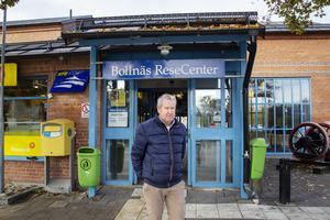 Åke Hedlund, styrelseordförande i Bollnäs stationshus AB.