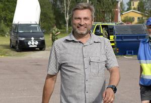 Peter Helander, fullmäktiges ordförande i Mora.