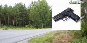 Pistolen i bilden är tagen ur ett annat sammanhang.