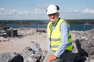 Stockholms Hamnars projektchef Magnus Sjöberg.
