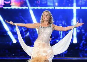 Elisa Lindström i Let's Dance, ett program som västeråsaren Erika Heizinger varit castingchef för.