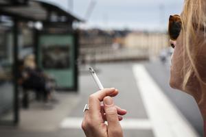 Det utökade rökförbudet kan ställa till med problem, menar Katarina Gustavsson, KD. Foto: TT