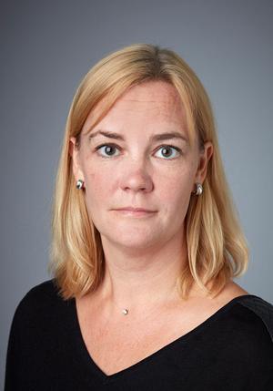 Kammaråklagare Karolin Hellsberg, Västerås åklagarkammare. Foto: Thomas Carlgren