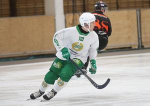 Ted Bergström gjorde tre mål mot Tillberga.