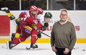 Det är inte ofta Fjällräven Center är utsålt till en match som inte betyder liv och död, skriver sportens krönikör Per Hägglund. Bild: Erik Mårtensson/TT