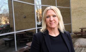 Annica Johansson, Tiohundras ekonomidirektör. Foto: Per Grundberg