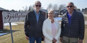 Göran Mann, Britt Gruving Fjellner och Åke Nilsson är medlemmar i Fjällglimtens Minnesfond.
