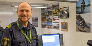 Johan Dyrander, gruppchef trafikpolisen.