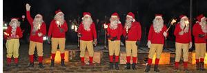 Grycksbos alla tomtar tackade för sig och för julen 2019.