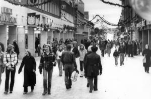1970. Intiman och Sveasalongen var två av stans biografsalonger. Fotograf: ÖP arkiv