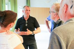 Extra nämndsammantKultur- och bildningsnämndens ordförande Håkan Söderman, (M), fick svara på frågor från åhörarna efter sammanträdets slut.