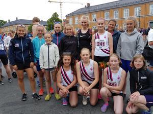 Offerdals damlag slutade på en nionde plats i damer motion.