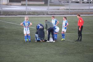 Derbyt mellan Rådmansö och Riala blev ingen vidare fotbollshistoria.