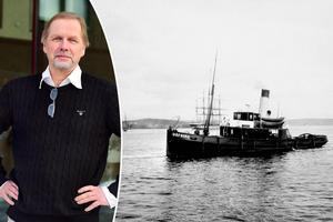 Artikelförfattaren Tommy Öberg, vars förfader omkom i olyckan.