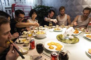 Matdags med Northern Ladies och Mass Diversity.