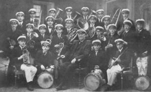 Östersunds gosskör 1920.