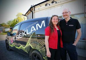 Helena och Mats Helenius  flyttade sin verksamhet från TIerp till gamla OK i Bollstabruk. Nu blir det flytt igen men bara tilll en större lokal.