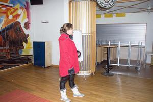 Angelica Ström tycker att Avestaparkens lokaler är perfekta för en restaurang.