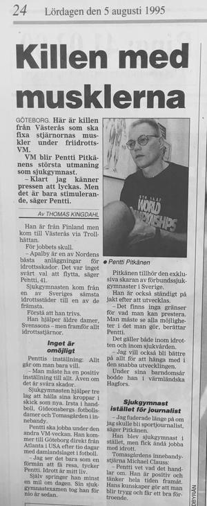 VLT 5 augusti 1995.