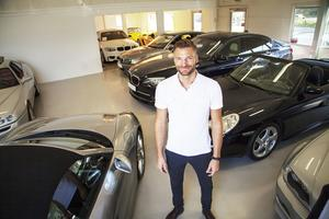 Ända sedan Mattias Claus sålde sin första bil i Luleå har han burit på drömmen om att öppna en egen bilfirma.