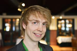 Markus Andersson är bryggare, etikettdesignare och generell uppfinnare-Jocke som ser till att allting rullar på och, förhoppningsvis, rullar ännu bättre.