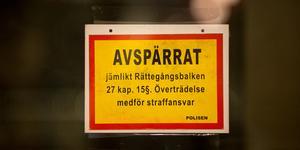 Skylt på den aktuella guldbutiken i Södertälje.