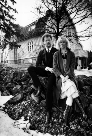 När Birgitta Götestam och hennes dåvarande man Peter Flack blev bortmotade från Wadköpings barnteater bytte de istället till sig en revykarriär i både Örebro och Stockholm. Foto: Berndt Larsson