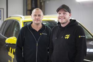 Johan Immelgård och Erik Svensson.