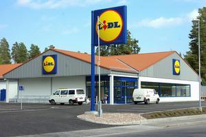 Arkivbild från 2005 när Lidl ganska nyligen hade öppnat i Norslund. Arkivbild: Kjell Jansson