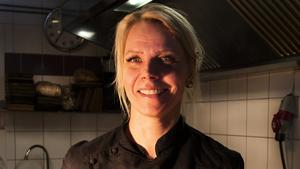 Elaine Asp driver restaurangen Hävvi i Glen. Långt ifrån de vanliga allfarvägarna.
