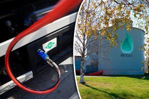 I Skellefteå moderniserar kommunen anläggningen och produktionen utökas. Bild: Andreas Apell/TT och Biogas Norr