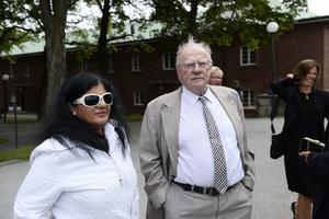 Andrea Gaytán Myrdal och Jan Myrdal skilde sig 2018. Foto: Izabelle Nordfjell / TT