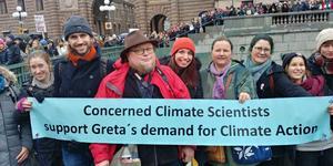 Klimatforskaren Douglas Nilsson har bestämt sig för att börja vara tydligare med hur allvarligt det står till med klimatet. Bild: Privat