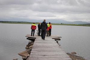 Ett år efter olyckan i Ånnsjön besökte fjällräddare och räddningstjänst åter platsen. Arkivbild.