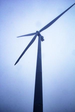 Vindkraftverken i Tönsen har en totalhöjd på 180 meter.