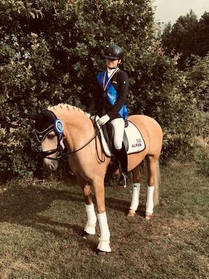 Mary Sophie Haid-Bondergaard hoppas få delta i ponny-EM i Polen.