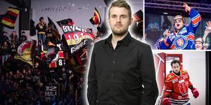 Brynäs-fansen fick spekulera, Eric Martinsson valde HV71 och Aaron Palushaj visade sig vara morgonpigg – några av höjdpunkterna från veckan i SHL. Foto: Bildbyrån