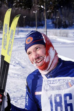 Niclas Bärj från Arbrå, nöjd segrare.
