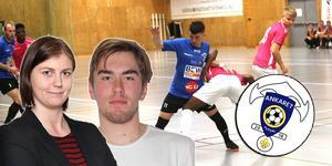 Jessica Eriksson och Svante Störlinge kommer att kommentera slutspelet i Ankaret Futsal Cup.