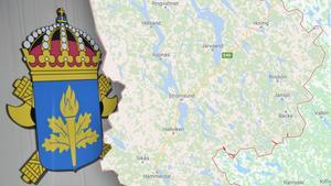 Under måndagsmorgonen greps en person i Strömsund misstänkt för förberedelse för terroristbrott. Bilden är ett montage. Foto: TT/Google maps